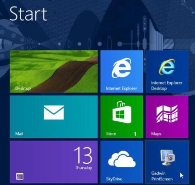 Taking Screenshots in Windows 8 – Using Gadwin Printscreen